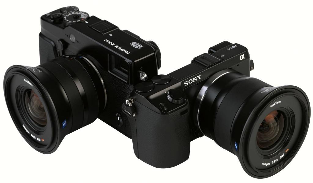 Zeiss Touit 12mm f2.8 32mm f1.8 lenses