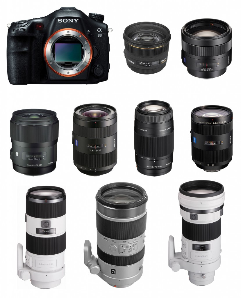 Best Lenses for Sony A99