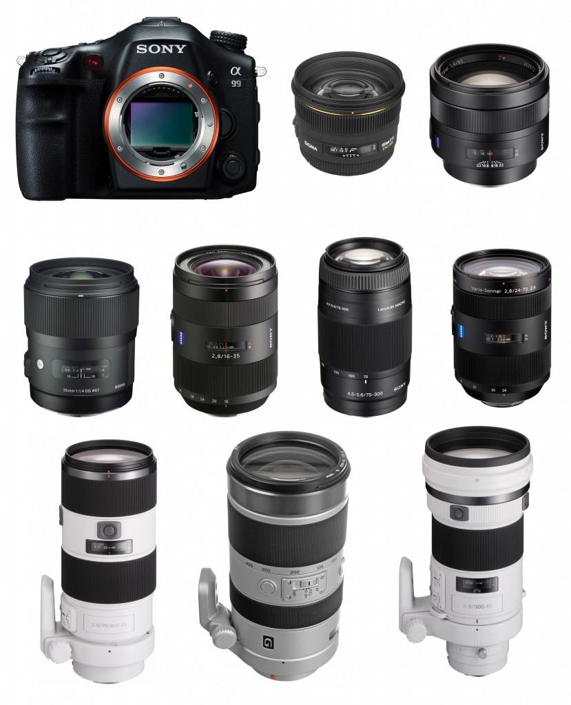Best Lenses for Sony A99