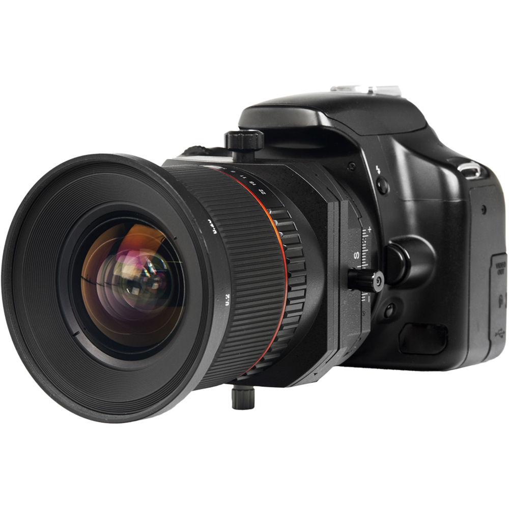 Bower 24mm f 3.5 ED AS UMC Tilt-Shift Lens