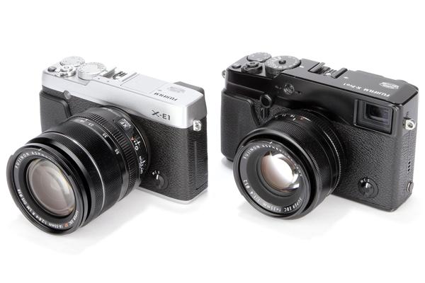 Fujifilm X-Pro1 X-E1