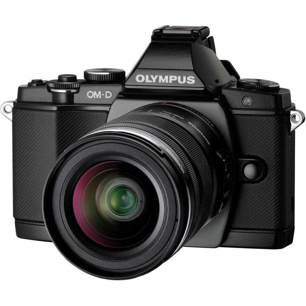 Фотоаппарат Olympus OM-D E-M1 Kit 12-50 mm f/3.5-6.3 Black-Black
