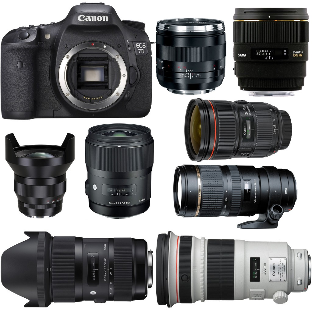 Recommended Best Lenses for Canon EOS 7D
