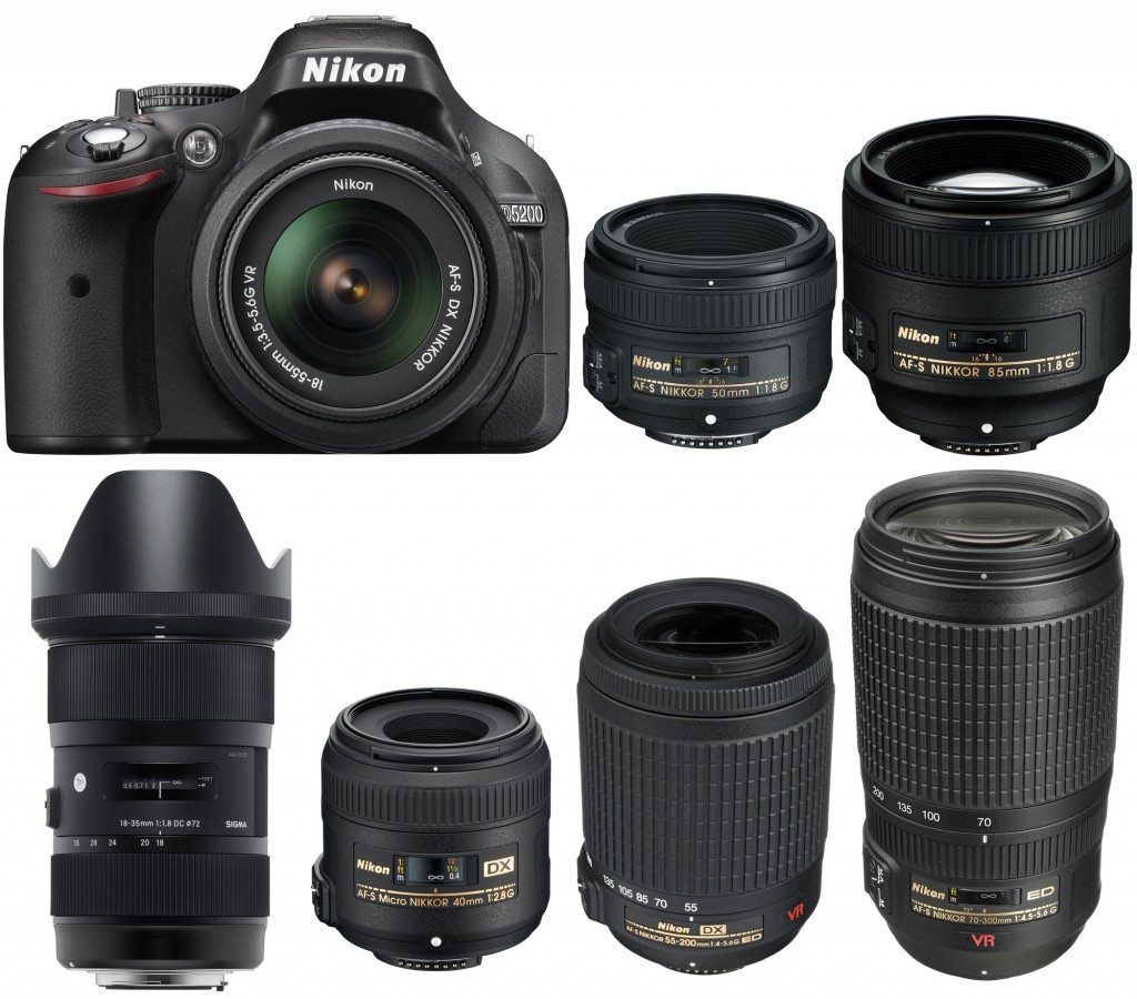 Recommended Lenses for Nikon D5200