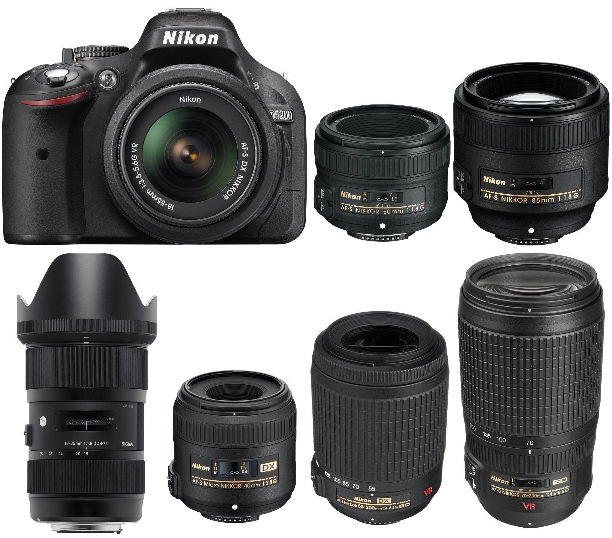 Best Lenses For Nikon D5200 Camera News At Cameraegg