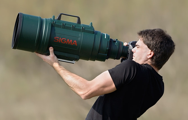 The Sigma 200-500mm f/2.8