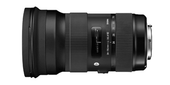 Sigma 24-70mm f2 DG OS HSM lens