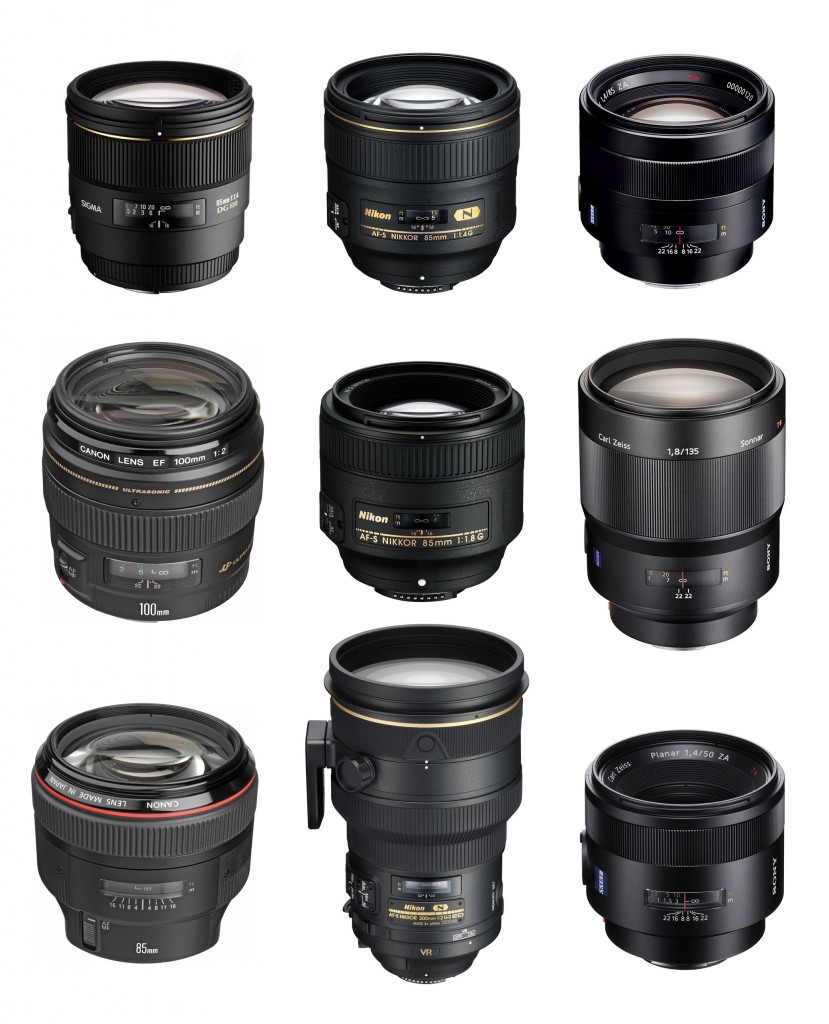 Best Portrait Lenses for Canon Nikon Sony