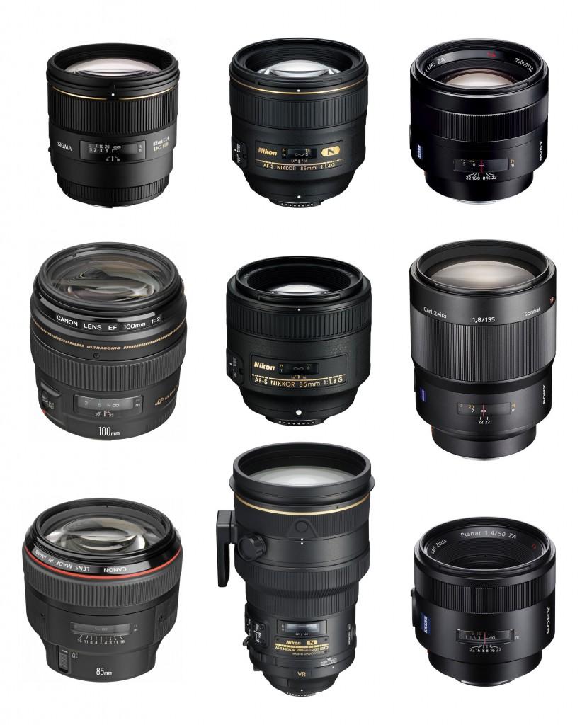 Best Portrait Lenses for Canon Nikon Sony