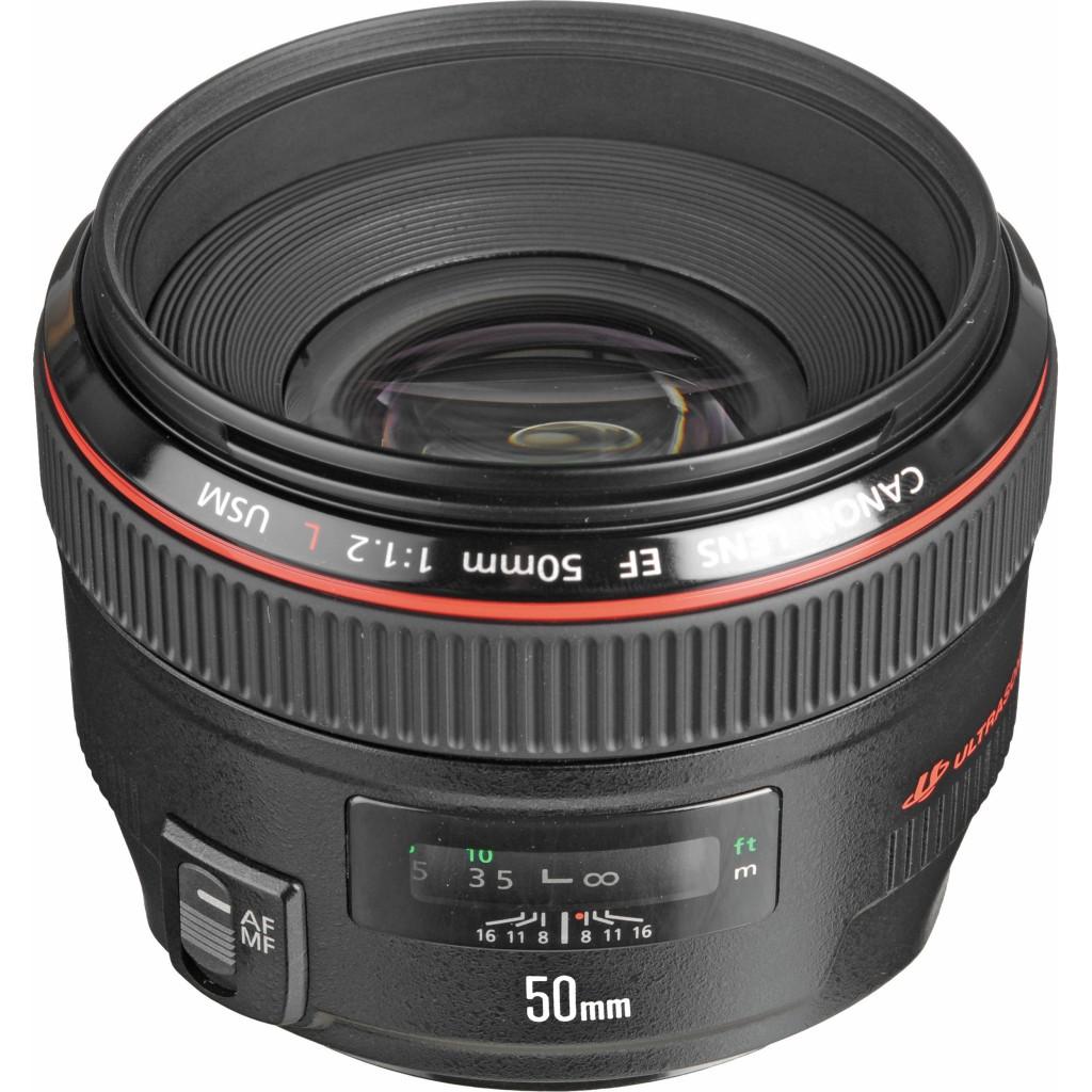 Canon EF 50mm f 1.2 L USM Lens
