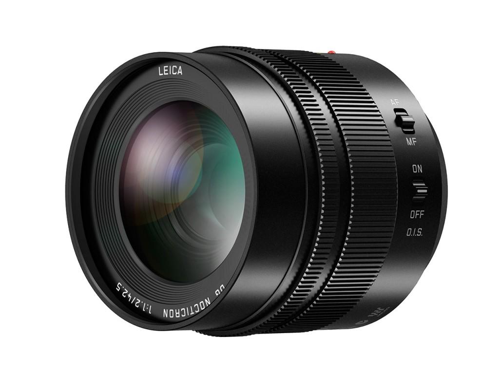 Leica DG Nocticron 42.5mm f 1.2 lens