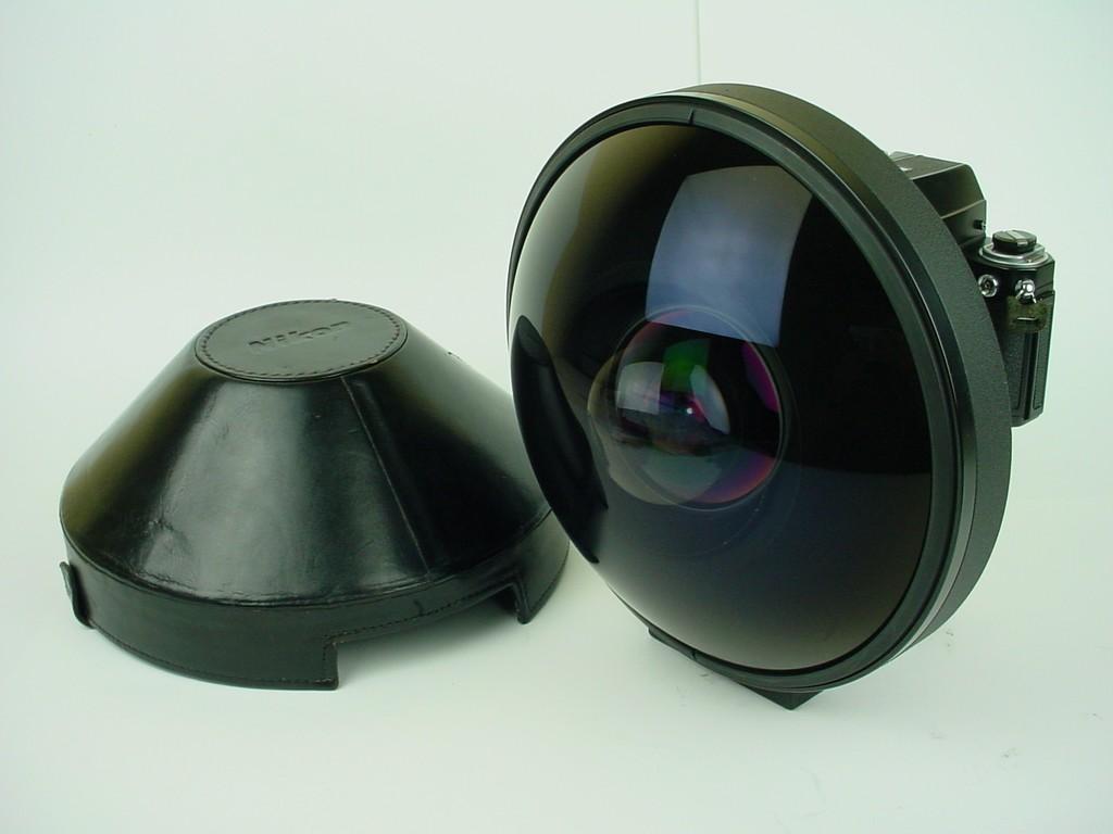 Nikon 6mm f 2.8 nikkor ai fisheye lens
