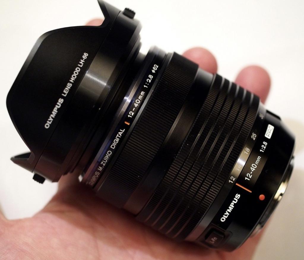 Olympus 12-40mm f 2.8 pro mft lens