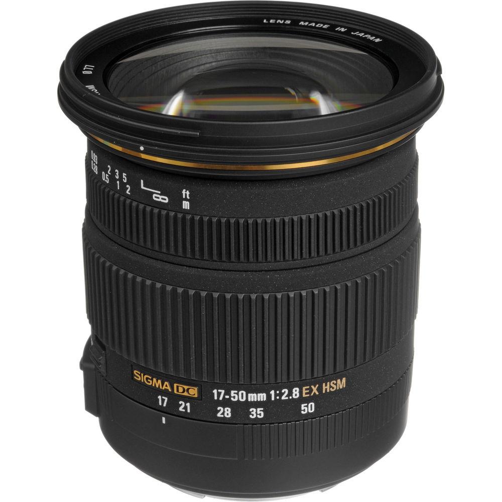Sigma 17-50mm lens