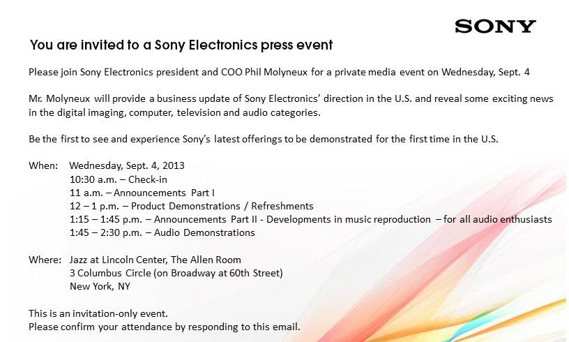 Sony-Press-Invite