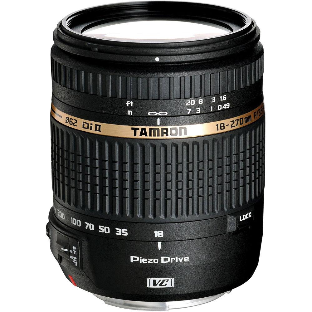 Tamron AF 18-270mm f/3.5-6.3 Di II VC PZD AF Lens