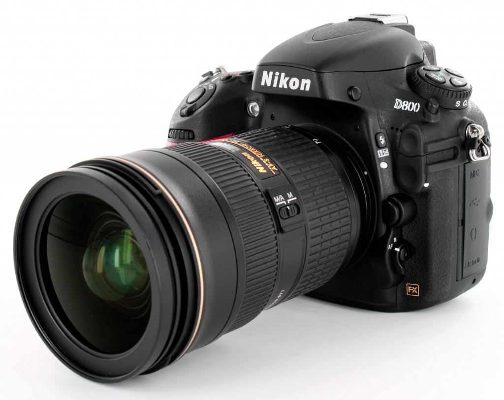 Nikon D800 with AF-S NIKKOR 24-70mm f 2.8G lens