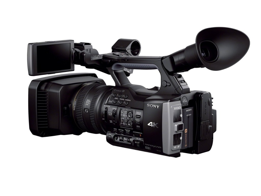 Sony FDR AX1 4K Camcorder video camera 2