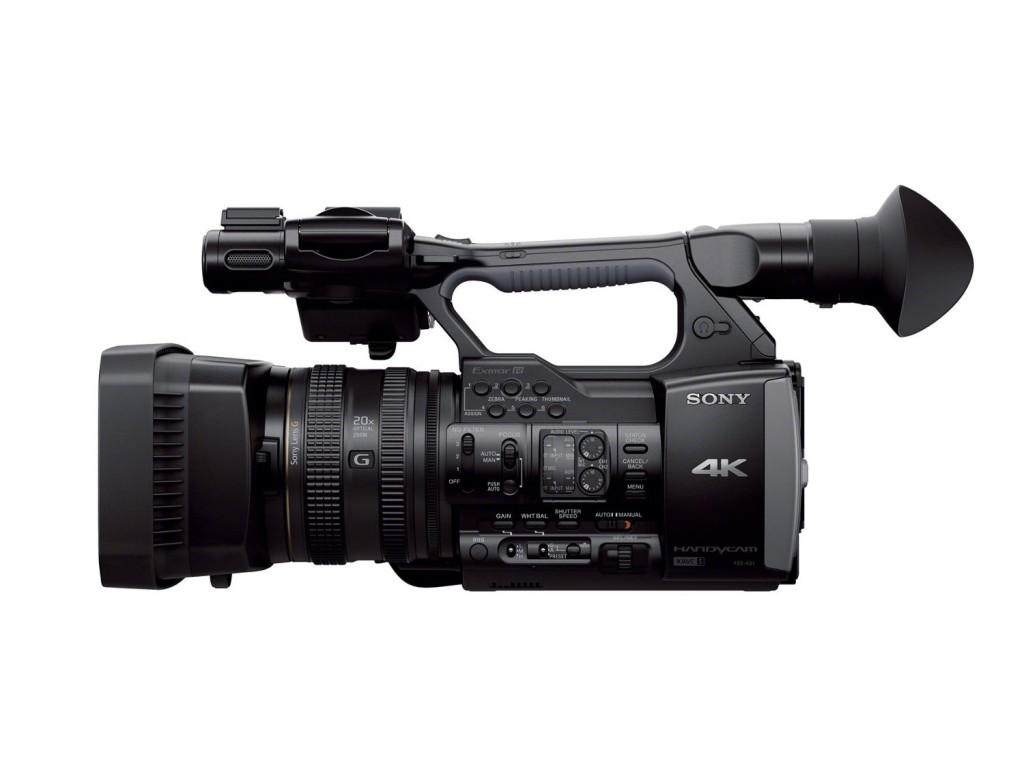 Sony FDR AX1 4K Camcorder video camera 3