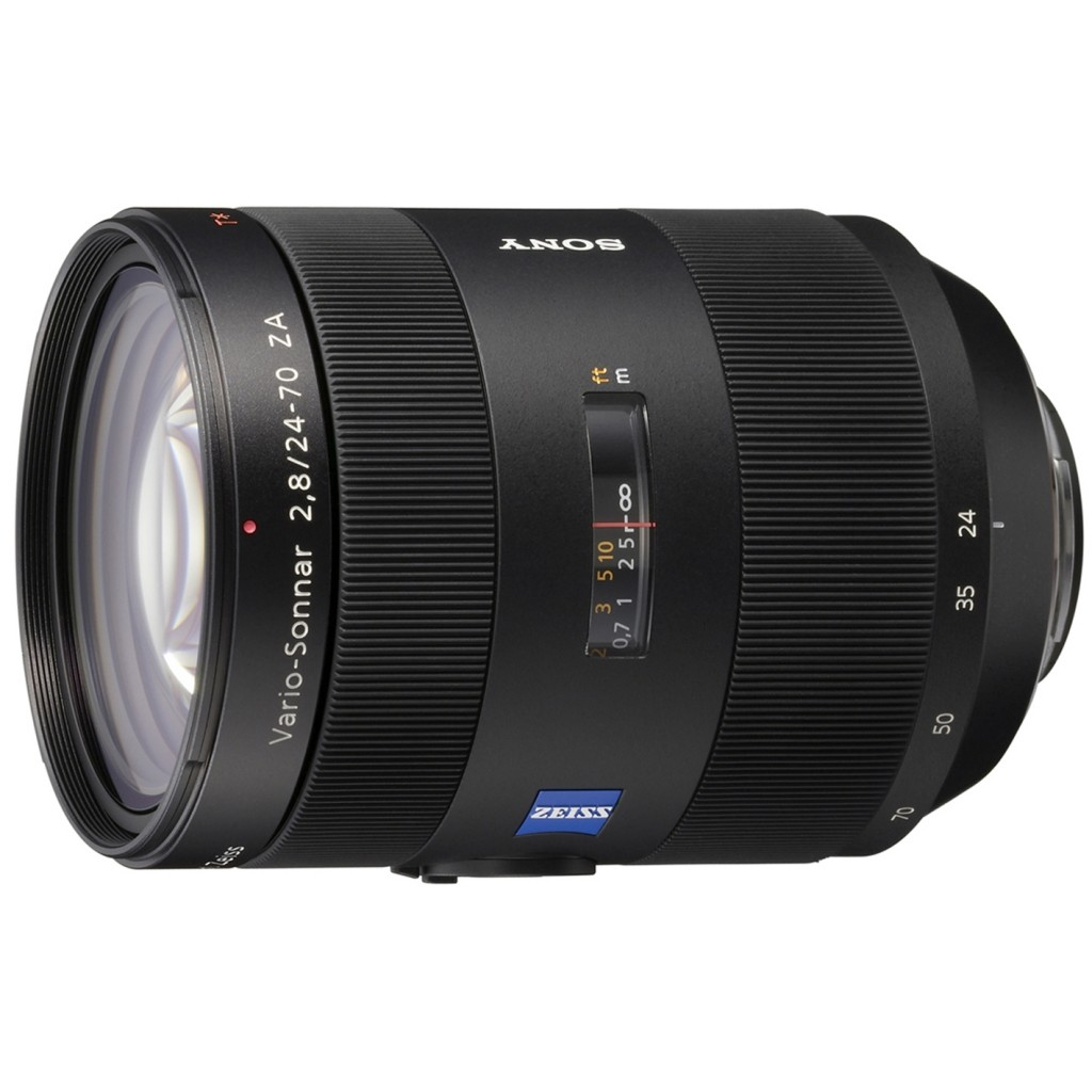 Zeiss 24-70mm f/2.8 A-mount lens