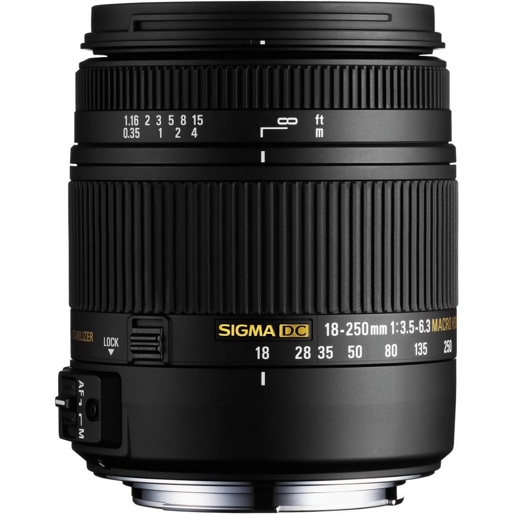 sigma 18 250mm macro lens