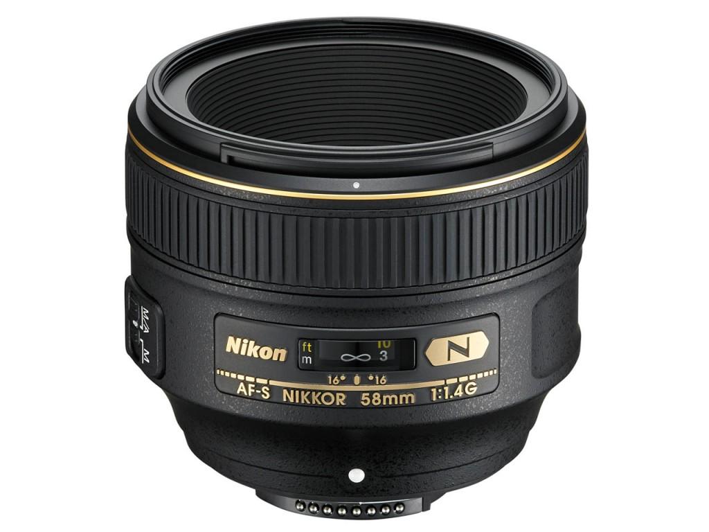 AF-S NIKKOR 58mm f 1.4G Lens