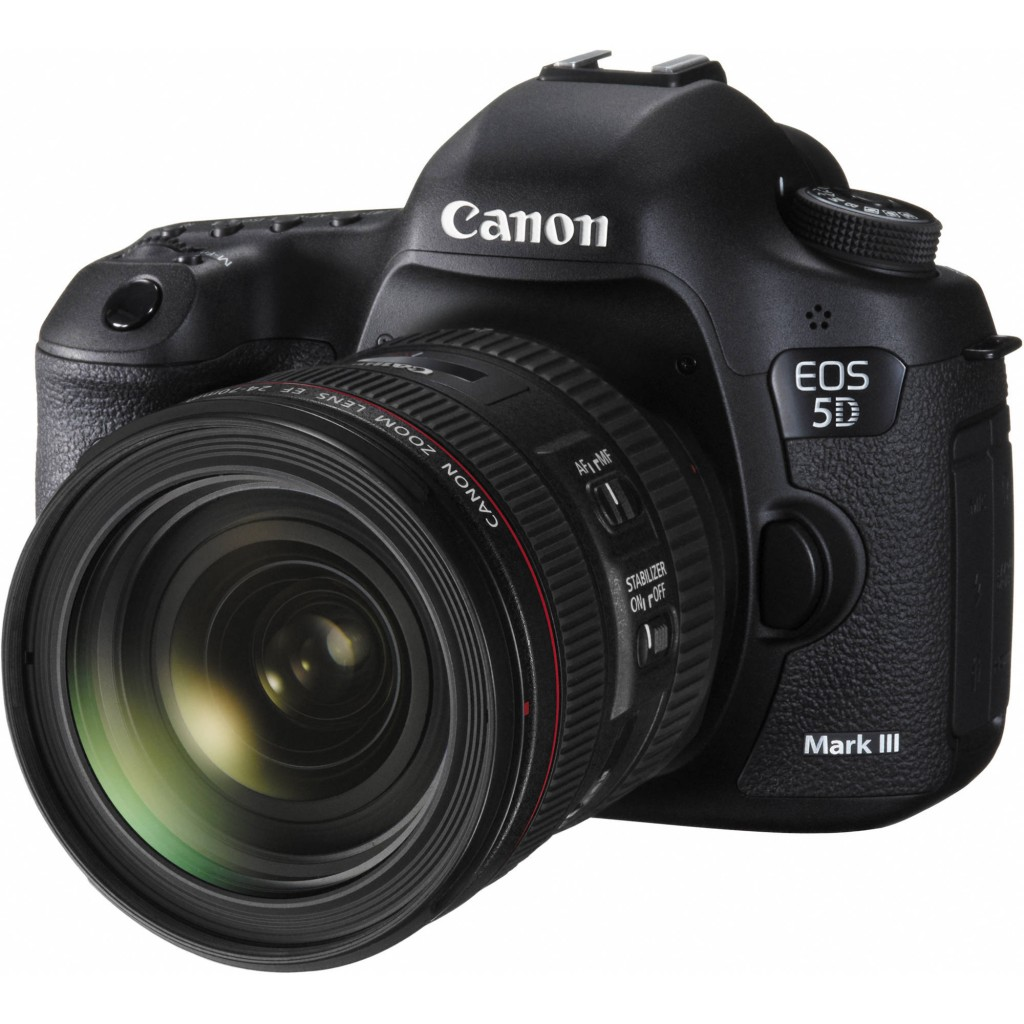 Canon 5D Mark III with EF 24-70mm f4l is usm