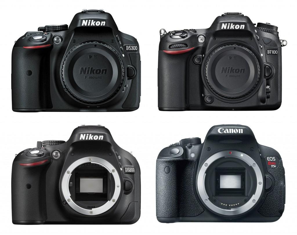 D5300-vs-D7100-vs-D5200-vs-Canon-T5i