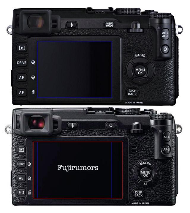 Fujifilm X-E1 Vs. Fujifilm X-E2