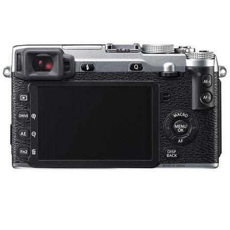 Fujifilm X-E2 silver back