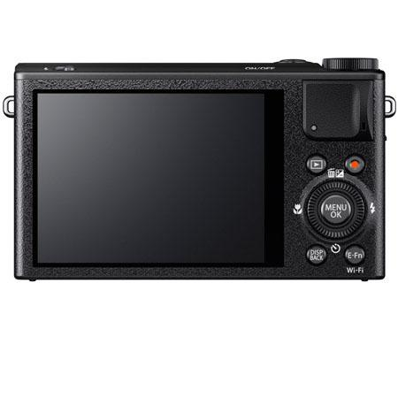 Fujifilm XQ1 Black back