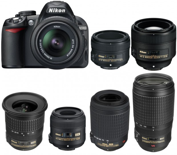 Nikon-D3100-recommended-lenses