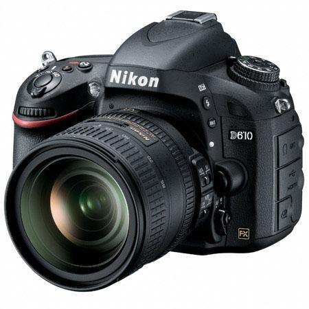 Nikon D610 with 24-85mm lens