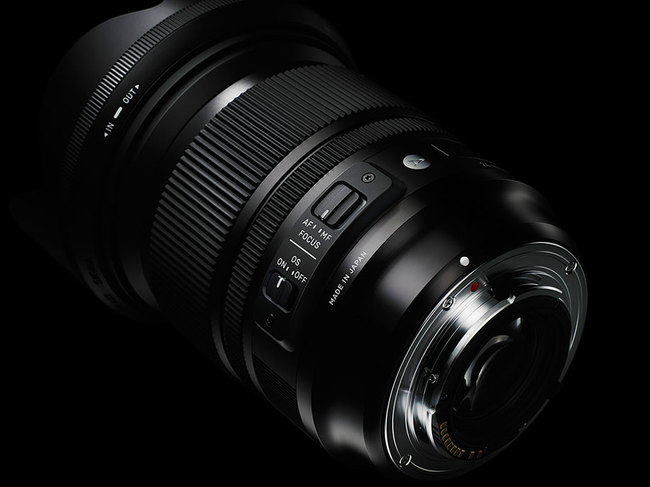The new Sigma 24-105mm f/4 DG OS HSM Art lens