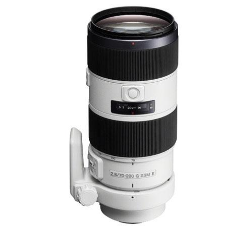 Sony 70-200mm f 2.8 G-Series II lens