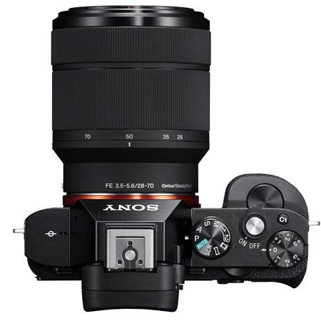 Sony A7 with 28 70mm lens top