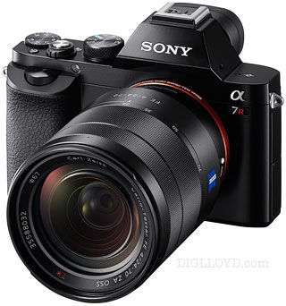 Sony A7R with new Zeiss 24-70mm f/4 lens