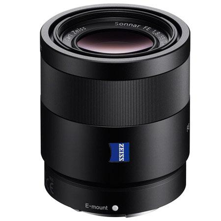 Sony zeiss Sonnar T FE 55mm F1.8 ZA Lens for E-mount Cameras
