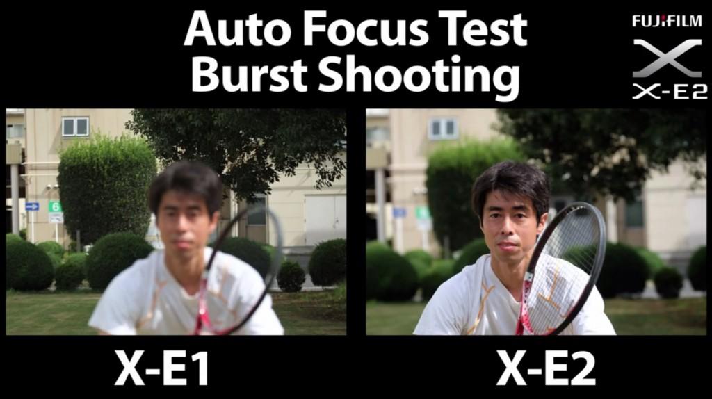 Fujifilm X-E2 Vs. Fujifilm X-E1 AF Speed Test