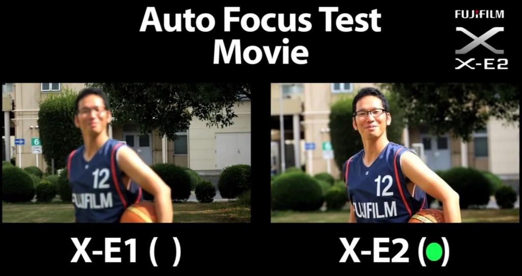 Fujifilm X-E2 Vs X-E1