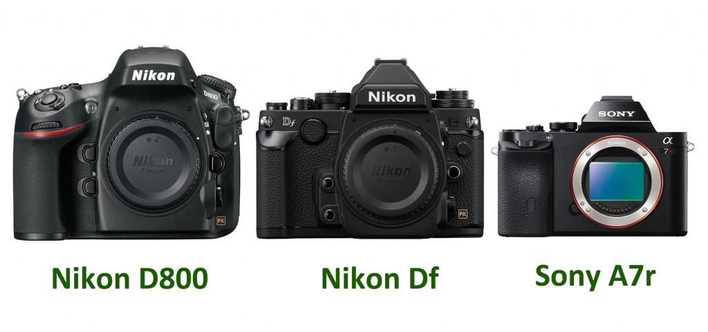 Nikon-Df-Vs-Nikon-D800-Vs-Sony-A7r