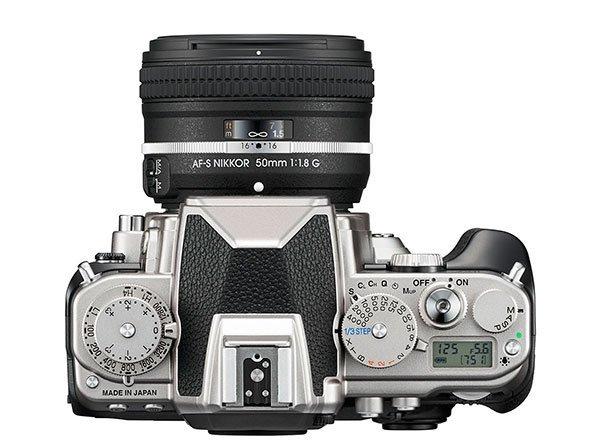 Nikon-Df silver -top