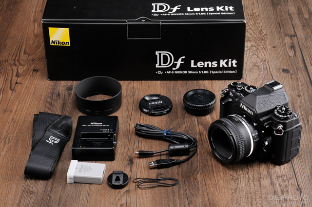Nikon Df unbox