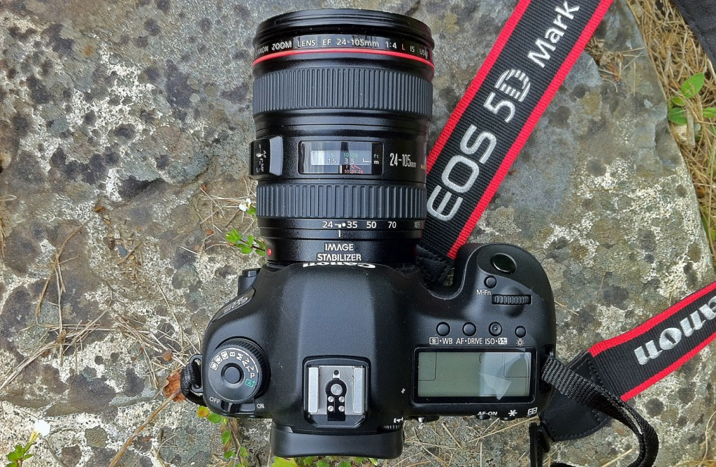 Canon-EOS-5D-Mark-III with EF 24-105mm lens