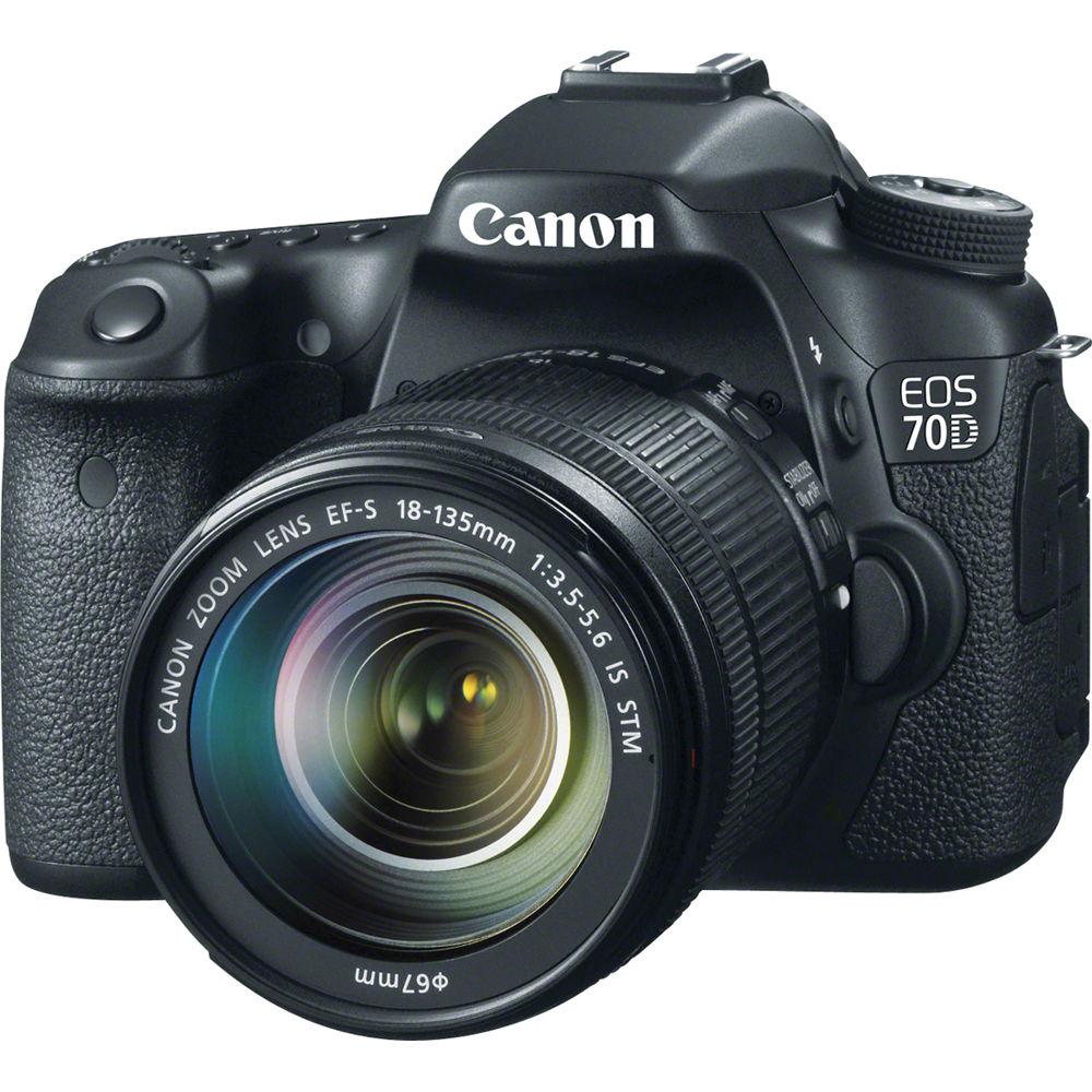 Canon EOS 70D w 18-135mm lens