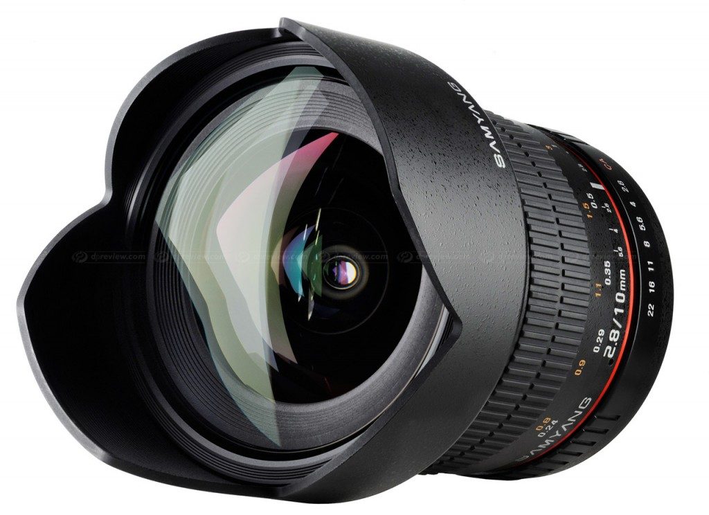 Samyang 10mm f 2.8 ED AS NCS CS lens