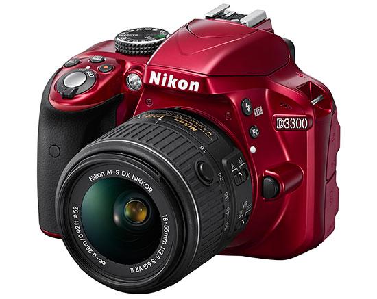 Nikon D3300 Red