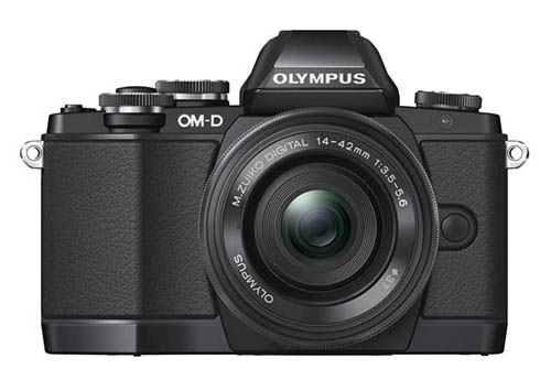 Olympus OM-D E-M10 Front