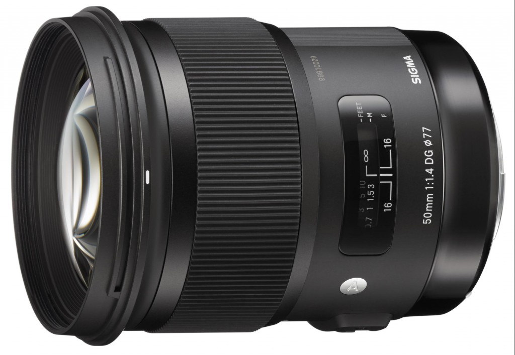 Sigma 50mm f 1.4 DG HSM Art Lens