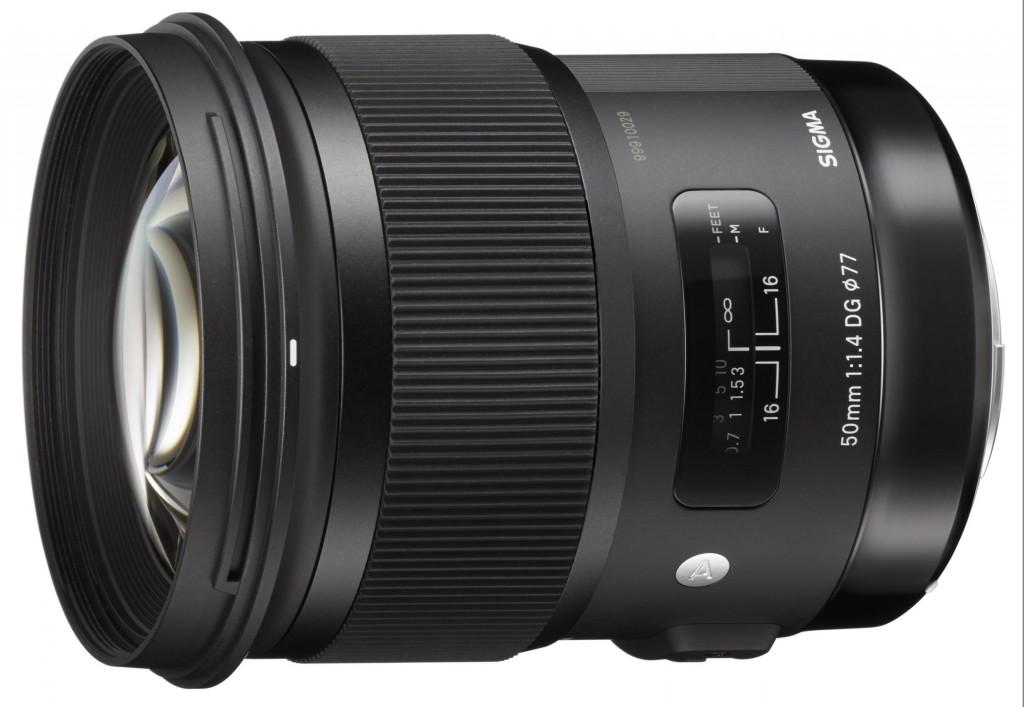 Sigma 50mm f 1.4 DG HSM Art Lens